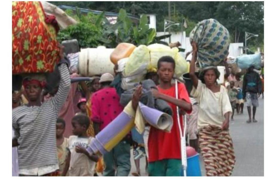 Souffrance pour les réfugiés de YUMBI au CongoBrazzaville
