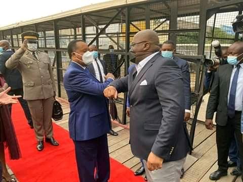 RDC: Félix Tshisekedi en visite de travail àBrazzaville
