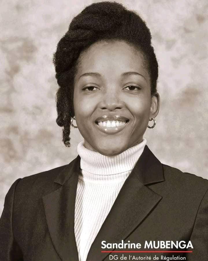 Énergie : l'ingénieure Sandrine NGALULA MUBENGA la dame qui assure la régulation de l'Électricité enRDC