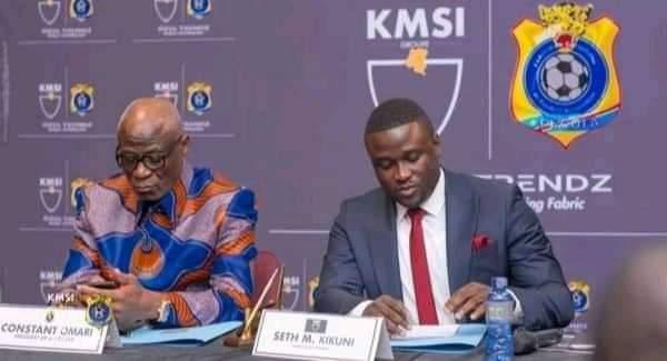 RDC-Sport : Seth Kikuni retire sa plainte contre ConstantOmari